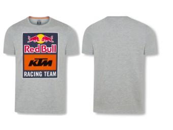 T-Shirt | RedBull KTM | Emblem Tee grey
