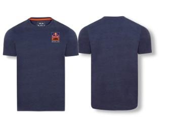T-Shirt | RedBull KTM | Patch tee navy