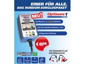 OptiMate1 Duo SGR