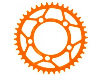 Kettenrad | 950, 990 Super Moto & Super Duke | Aluminium | orange