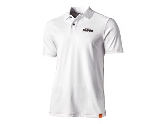 Polo Shirt | Racing | Polo white