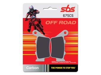 Bremsbelag Offroad Carbon hinten