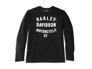 Racer Font Motorcycle Co. Long Sleeve