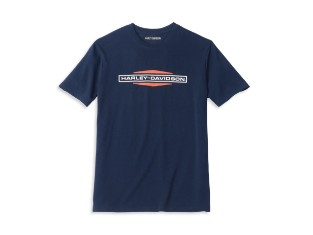 Herren T-Shirt Stacked Graphic