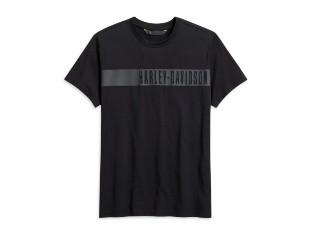 Harley Davidson T-Shirt, schwarz mit Aufschrift
