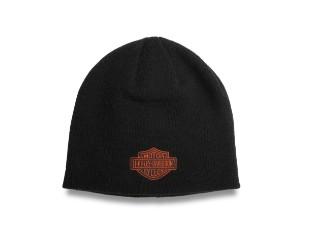 Mütze Bar & Shield schwarz/orange