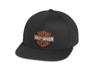 Baseball Cap Bar & Shield schwarz