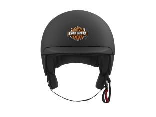 Harley Davidson B09 5/8 Helm, mit Bar & Shield Logo