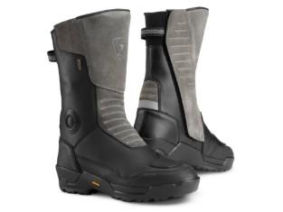 Stiefel Gravel Outdry schwarz/grau