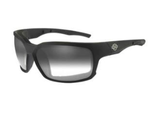 COGS-Sonnenbrille, leicht verstellbare rauchfarbene Gläser/schwarze Fassungen