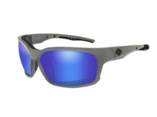 COGS-Sonnenbrille mit blauen Spiegelgläsern & mattgrauen Rahmen
