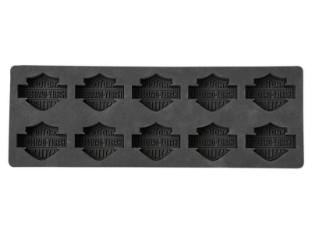 Bar & Shield Silikon Eiswürfelschale, schwarz
