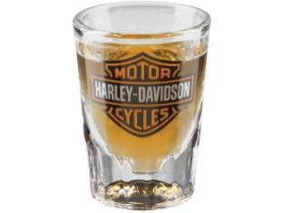 Harley-Davidson Core Bar & Shield Shot-Glas, 7 ml, transparent