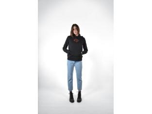 Harley Davidson Damen Pullover, mit Bar & Shield und Schriftzug
