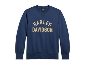 Harley Davidson Pullover, blau, Limited Edition