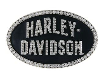 Harley Davidson Damen Gürtelschnalle Marquee