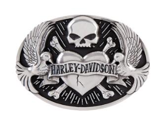 Harley Davidson Damen Gürtelschnalle 'Tattoo'