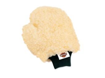 Woll-Waschhandschuh