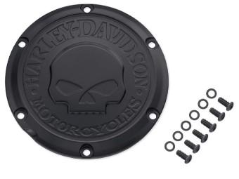 Willie G Skull Derby Cover Black Edition