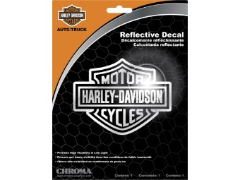 Reflective Bar & Shield Decal