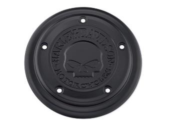 Luftfilter-Zierblende Willie G Skull schwarz
