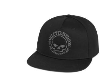 Willie G Skull Baseball Cap schwarz