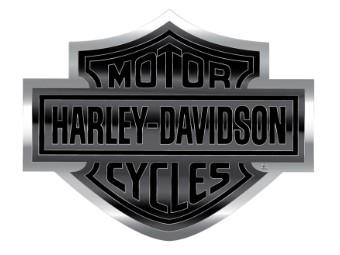 Harley Davidson Bar & Shield Aluminium Aufkleber
