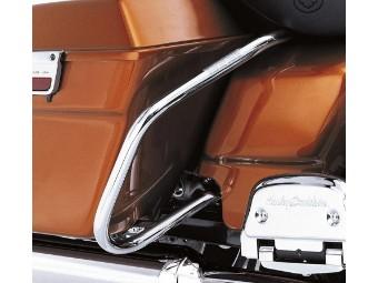 Comfort Profile Satteltaschen-Schutzbügel-Kit HINTEN FLHR, FLHX und FLHT Modelle '97-'08
