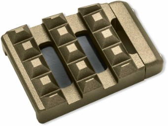 Dominion Bremspedal Pad klein bronze