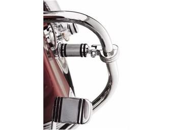 Billet Montagekit für Motorschutzbügel-Fußrasten