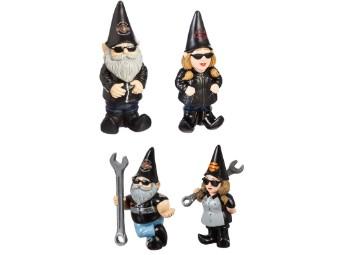 Harley-Davidson Gnome Set / Gartenzwerg Set