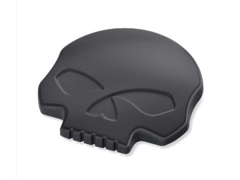 Willie G Skull Tankblende links, schwarz
