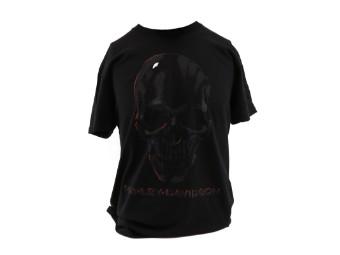 Dealer Shirt Black Skulls Honor
