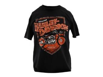 Dealer Shirt Black OLD Fashioned Steel
