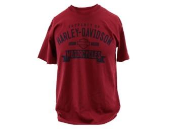 Dealer Shirt Dark Garnet Take it easy