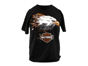 Dealer Shirt Black Courage Eagle