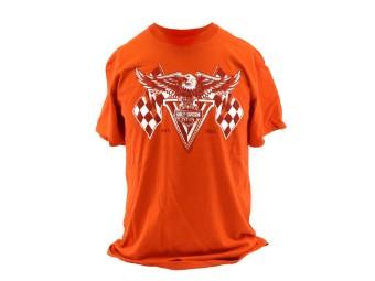 Dealer Shirt Classic Orange Traditional Win