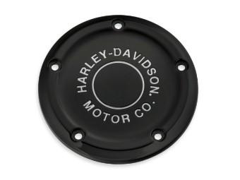 Luftfilter-Zierblende H-D Motor Co. schwarz