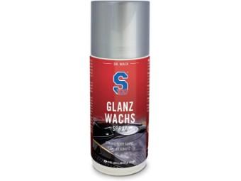 Glanz Wachs Spray 250ml, Carnauba-Wachs, Hoher Glanz und starke Farbtiefe