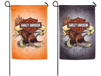 Legendary Eagle Suede Doppelseitige Gartenflagge
