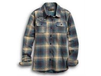 Harley-Davidson® Women's Plaid Shirt