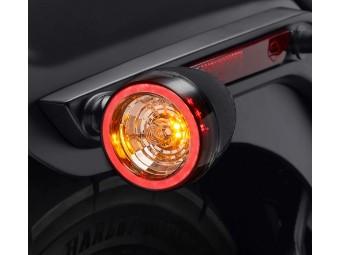 Hintere Signal-LED-Blinker, schwarz