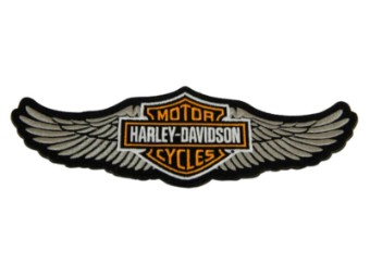 8 Zoll gestickter Winged Bar & Shield Logo Aufnäher