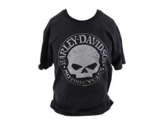 Harley Davidson Skull Dealer Shirt