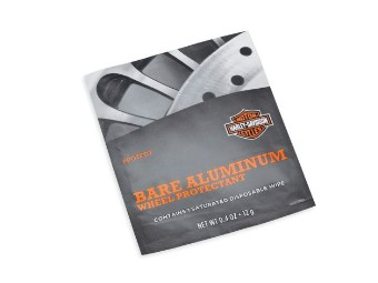 Bare Aluminum Wheel Protectant Wischtuch
