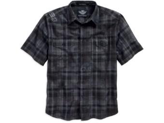 Harley Davdison Männer Hemd 1903 grau/schwarz