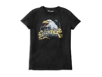 Harley Davidson Eagle Damen Shirt