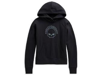 Harley Davidson Kapuzenpullover/ Hoodie mit Reflective Skull