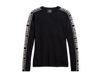 Harley Davidson, Longsleeve Shirt, schwarz