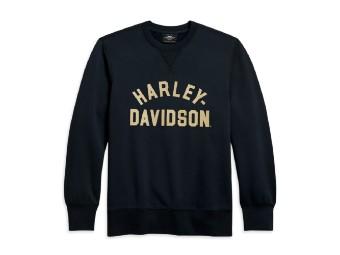 Harley Davidson Herren Pullover - Slim Fit, schwarz